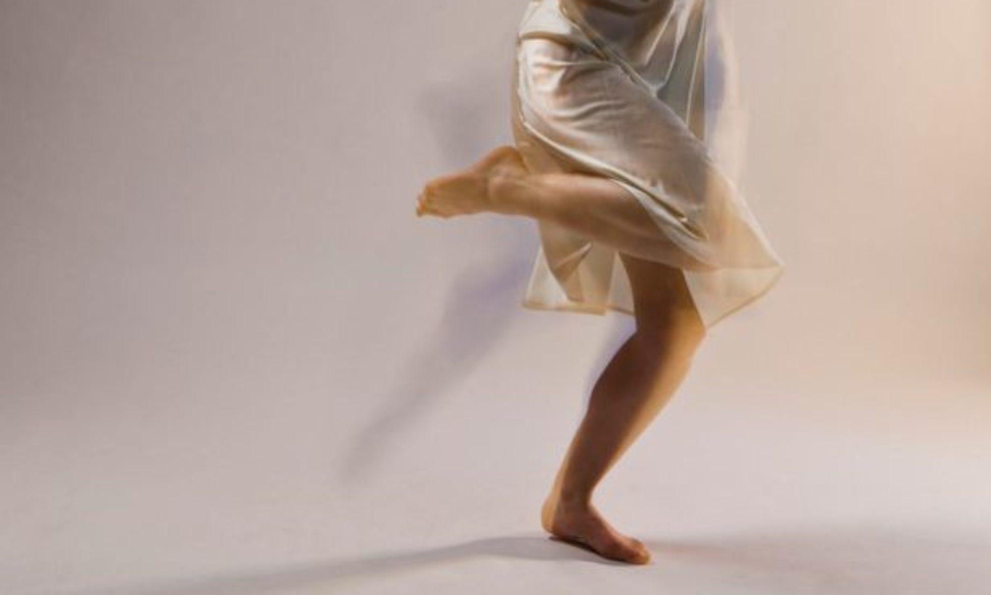 rachel is dancing